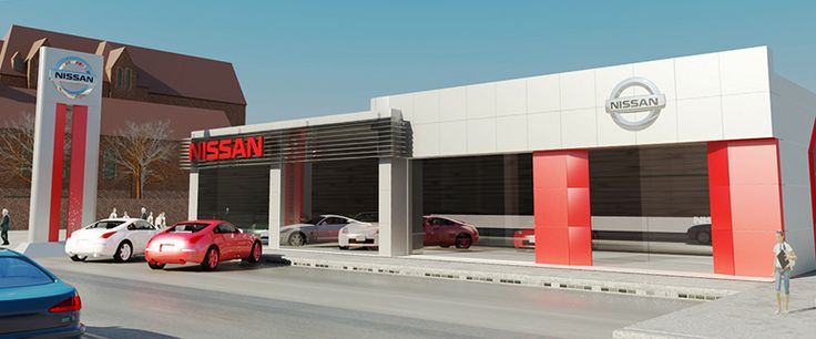 Category: Architecture Client: Nissan Showroom - Aleppo   Area Space: 800 sq. meter Year of completion: 2010