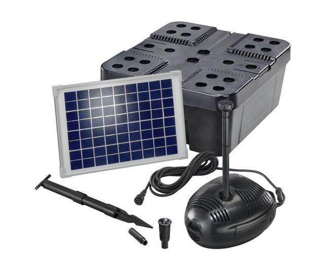Kit solar de filtrado estanques Pro 630