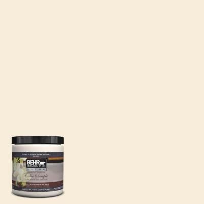 BEHR Premium Plus Ultra 8 oz. #UL160-10 Polished Pearl Interior/Exterior Paint Sample-UL160-10 at The Home Depot