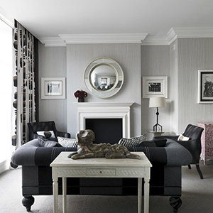 Crosby Street Hotel In SoHo Has High Tea Or Go For A Drink Grey Living RoomsLiving Room