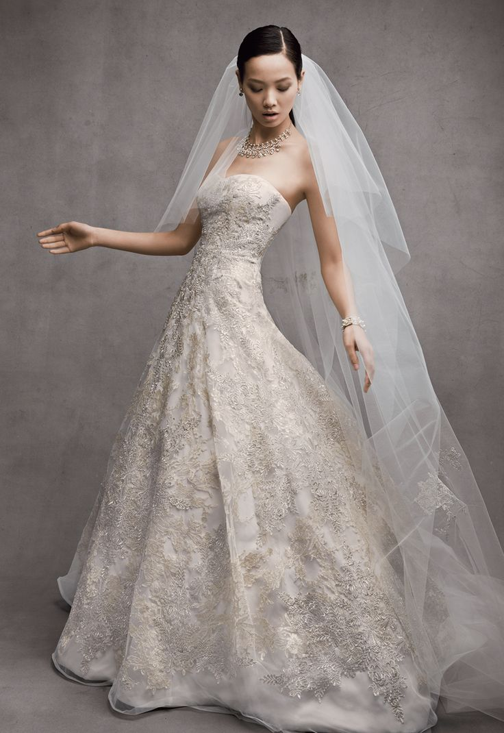 oleg cassini style cwg592 2014 wedding dress trends