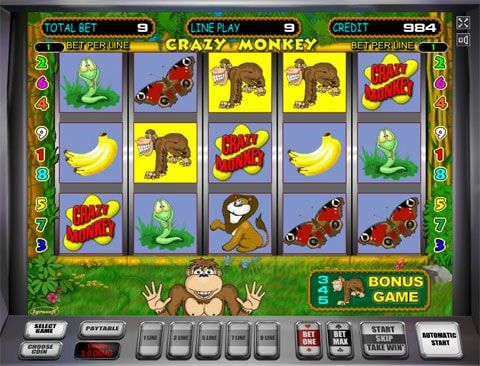 Играть Crazy Monkey в Казино Вулкан Казино Вулкан на реальные предлагает вам оценить потрясающие возможности игрового автомата Crazy Monkey. Виртуальный мир представлен зелеными джунглями, в которых живет большое количество обитателей, приносящих игроку денежные выпла�