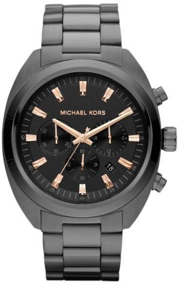 eb915fffb891 Michael Kors MK8276 Dean Chronograph Gunmetal Tone Stainless Steel Men s  Watch