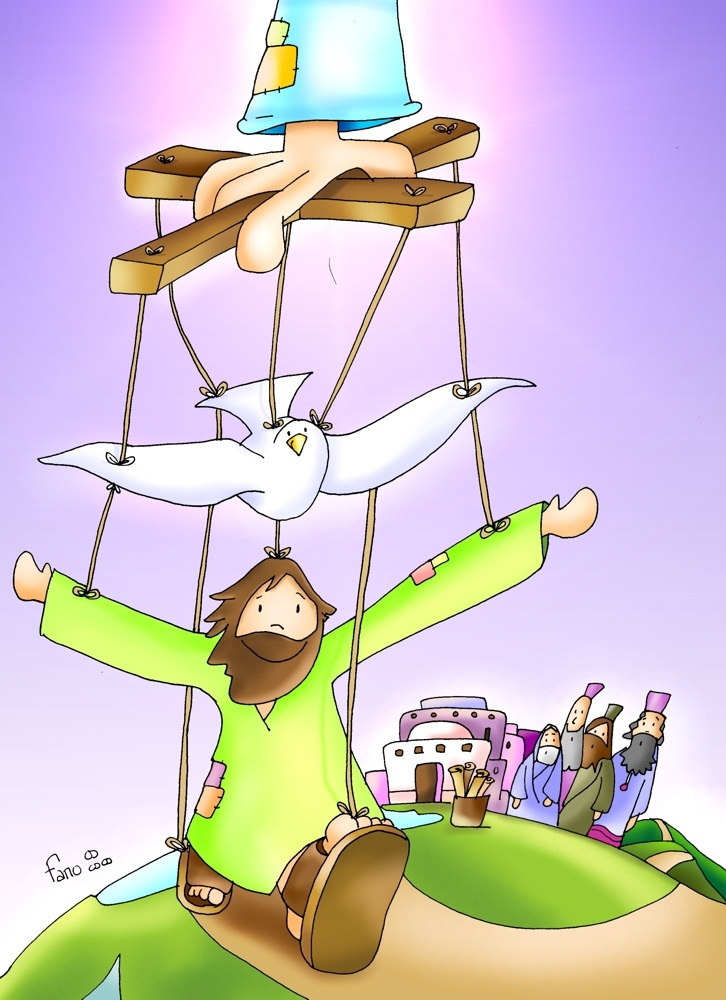 El Espíritu de Dios está sobre mí.