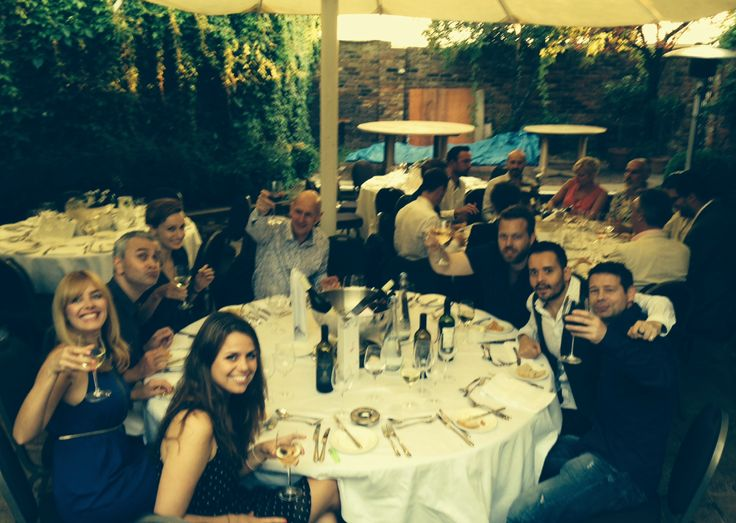 Dinner at the Kensington Roof Gardens - Siren #SummerParty
