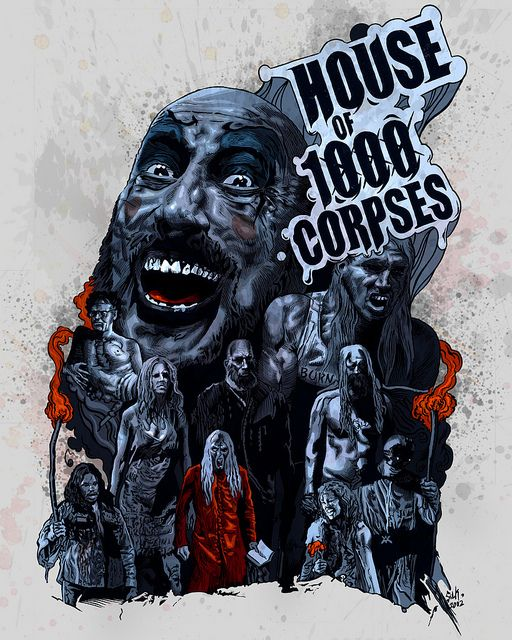 rob zombie poster art |