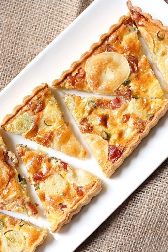 Recette gateau fromage poireau