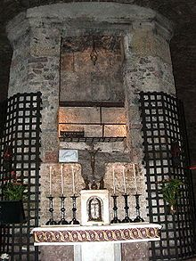 Basilica of San Francesco d'Assisi - Tomb of St. Francis in the crypt