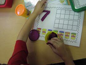 Keen On Kindergarten: First Week Math Centers