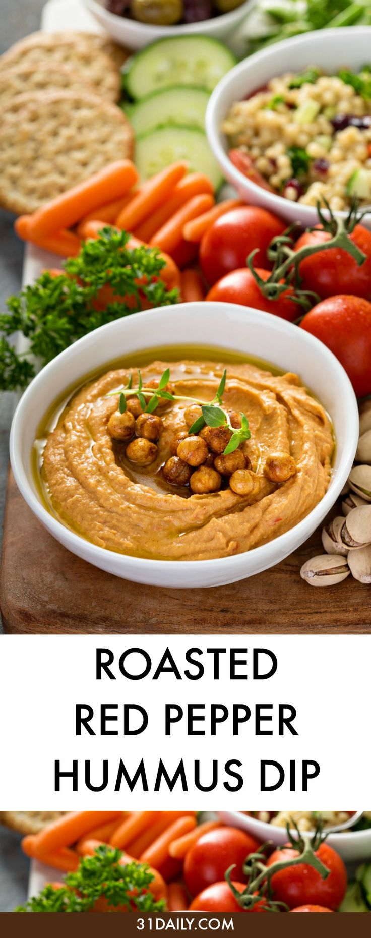 25 best healthy movie snacks ideas on pinterest for Recipe red pepper hummus