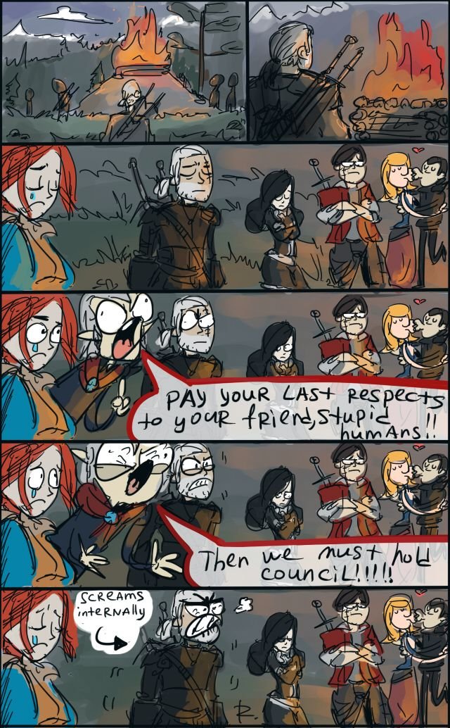 The Witcher 3, doodles 38 by Ayej on DeviantArt