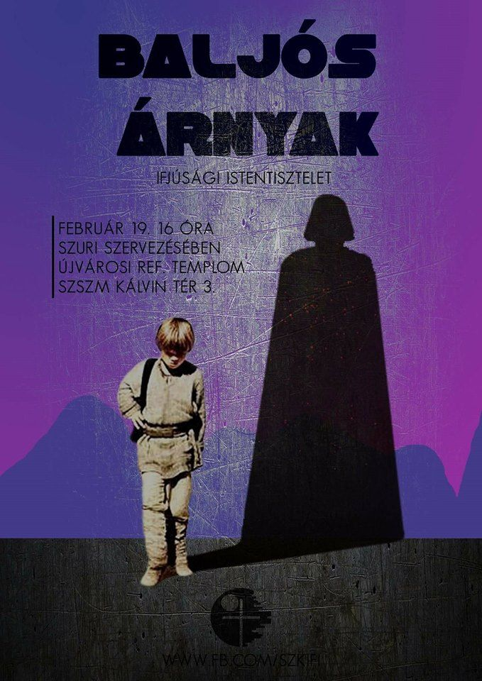 Szkifi | Star Wars | Event Flyer | modern | Poster | Chriastian | Youth Event | DIY | Sci-fi