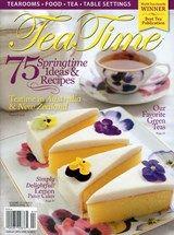Tea Time Magazine | 3/2015 Cover