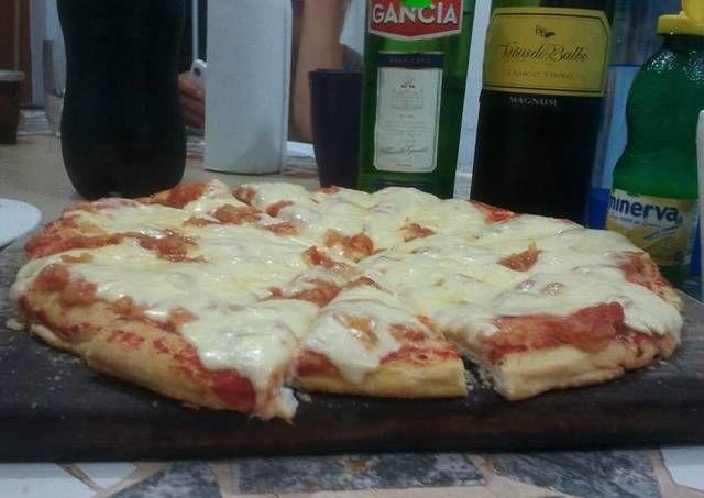 Pizza en microondas