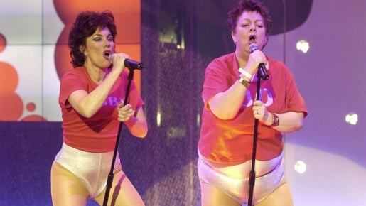 Ruby Wax and Jo Brand take on The Cheeky Girls for Red ...