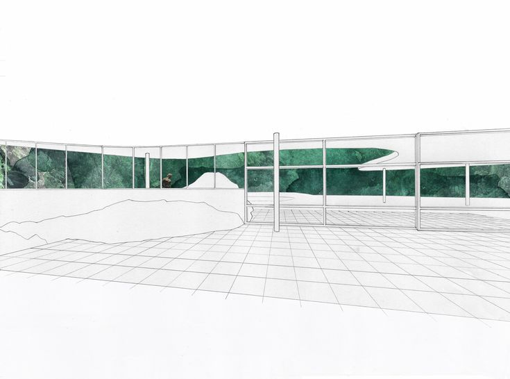 Casa das canoas oscar niemeyer drawing style mies van - Superstudio barcelona ...