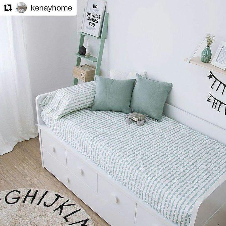 decokids whiteandmintgreen Repost kenayhome with repostapp  Con la nuevahellip