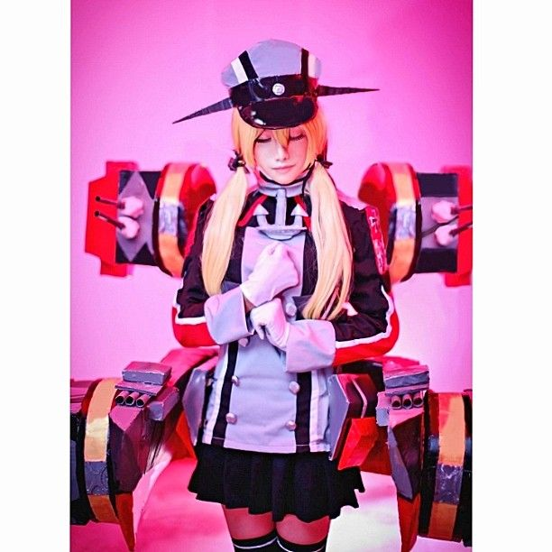 Prinz Eugen by me Photo by El. Photography  #cosplay #prinzeugen #kancolle #kantaicollection #prinz_eugen #purin #cosplayprops