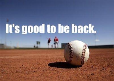 For Summer, Jen, Alllison :-) --->  Baseball is back