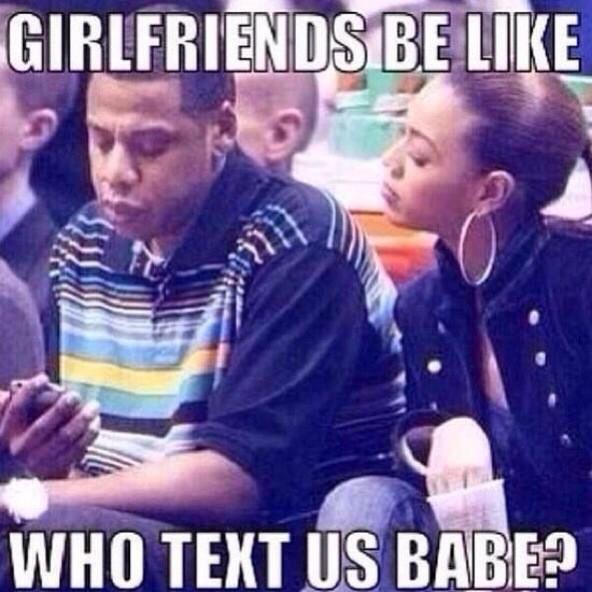 When bae gets a text