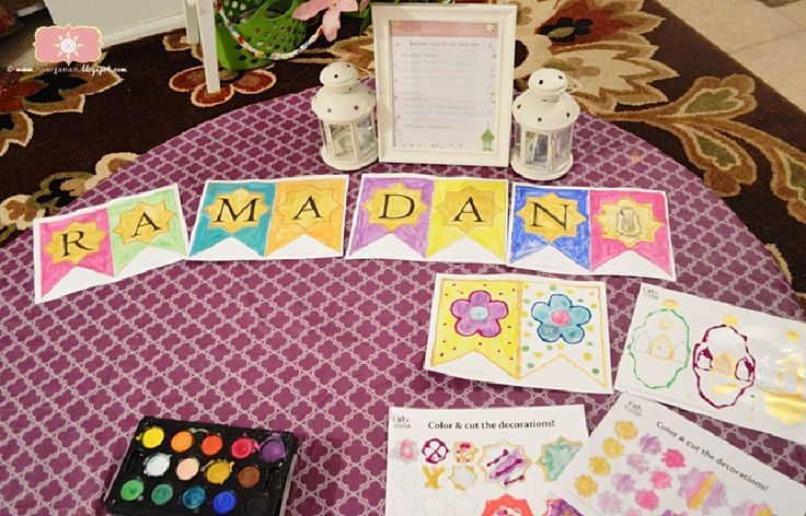 I love all the Ramadan Banners that are available for download. Ramadan decorations have come along way since I became Muslim 15 yea...