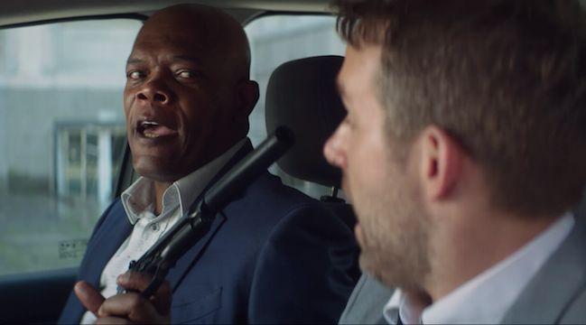 Ryan Reynolds Protects Sam Jackson In The 'Hitman's Bodyguard' Trailer