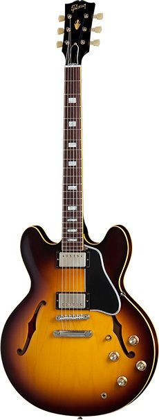 If this 50th anniversary version of the Gibson 1963 ES-335 had a gender, it'd be a Cougar!