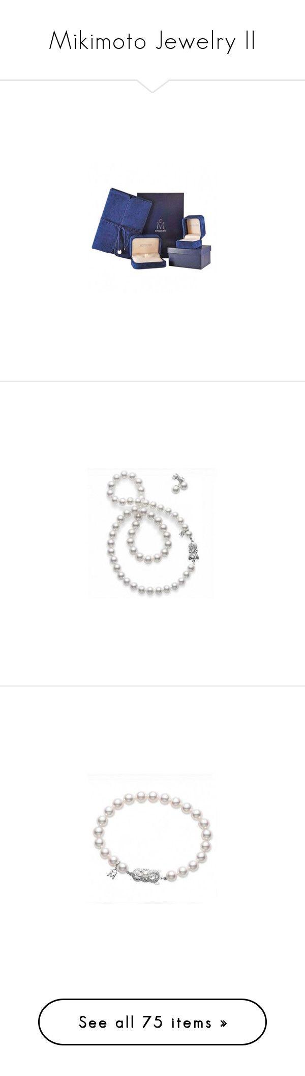 Mikimoto Jewelry Ii By Betiboop8 On Polyvore Featuring Polyvore Women's  Fashion Jewelry Rings Mikimoto Ring Mikimoto