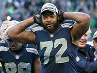 "Seattle Seahawks defensive lineman Michael Bennett came to the defense of the Patriots in light of the deflated ball controversy. Bennett says it's ""propaganda"" and ""a chance to blow the game up."""
