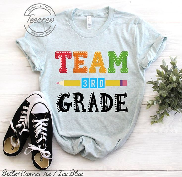 Team Third Grade Shirt, 3rd Grade Shirt, Teacher Shirt Third Grade Squad Crew Shirt 3rd Grade Teache