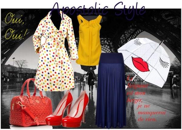 """Paris Apostolic Style"" by emmyholloway on Polyvore"