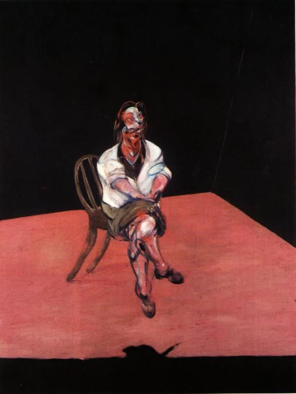 "Study for Portrait of Isabel Rawsthorne - Francis Bacon -See ""Last Tango In Paris"" opening credits scene."