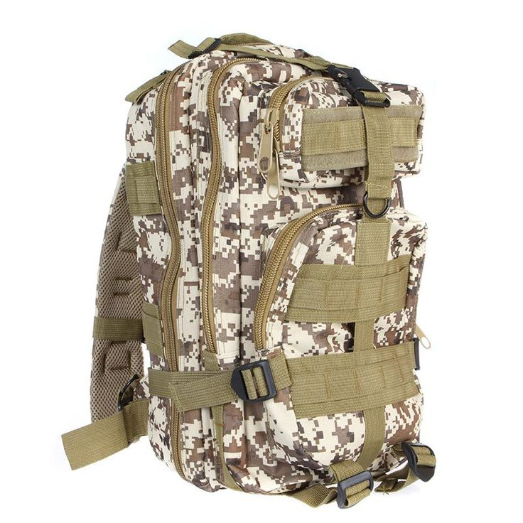30L Outdoor Sport Military Tactical Backpack Molle Rucksacks Camping Hiking Trekking Bag Army Backpacks