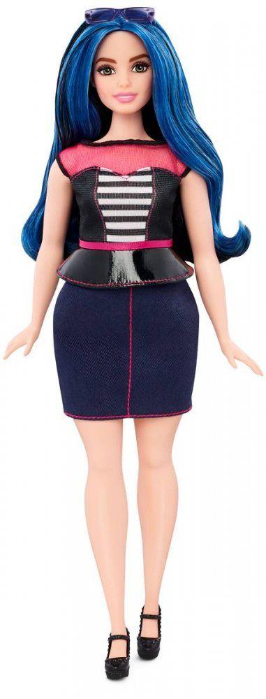 Karolínka - Mattel Barbie modelka 27 Sladké proužky   MALL.CZ