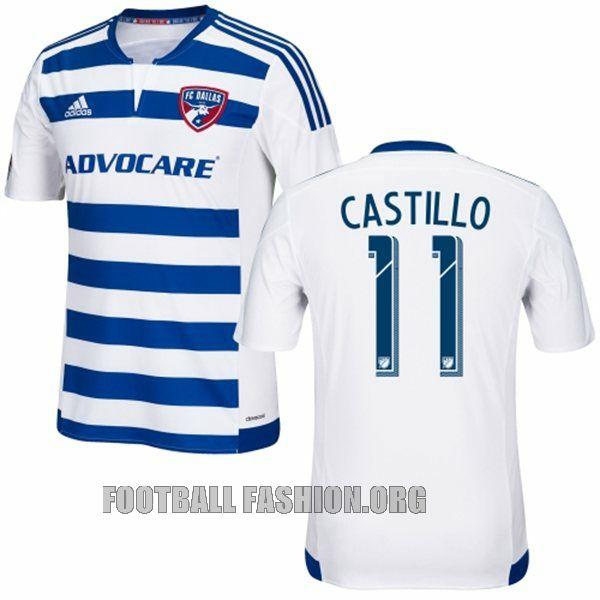 eb51a3861d1 FC Dallas 2015 adidas Away Jersey
