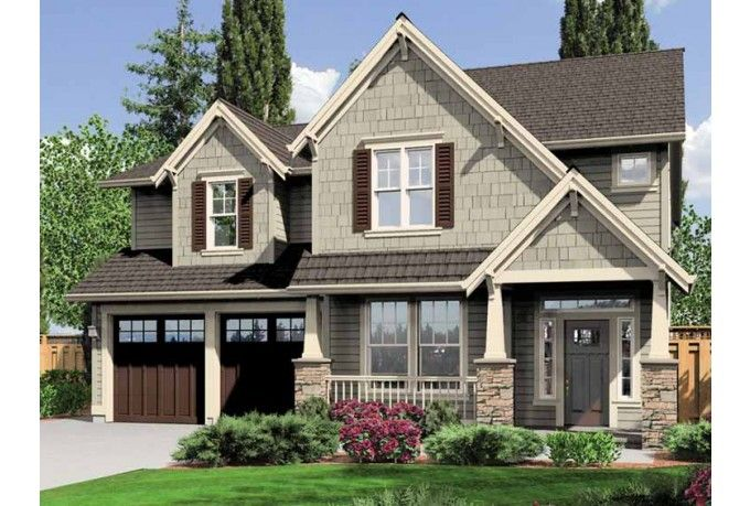 Eplans craftsman house plan four bedroom craftsman for Award winning craftsman home designs