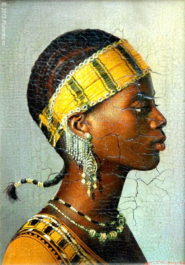 Cultured Art --- Stanislav Plutenko. 'Bassari (Senegal)' from the Girls of Africa series