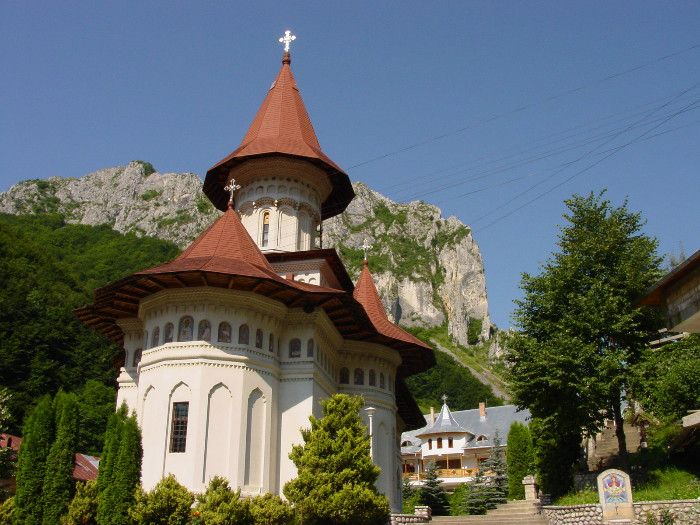 Ramet Abbey is one of the ancient monastic settlements in Transylvania. Built in 1214. Accommodations available.