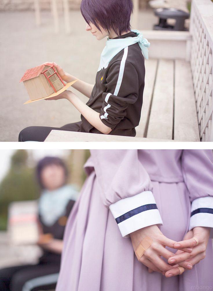 Fandom: Noragami Characters: Yato, Hiyori Cosplayers: (Yato), (Hiyori) Photo by: