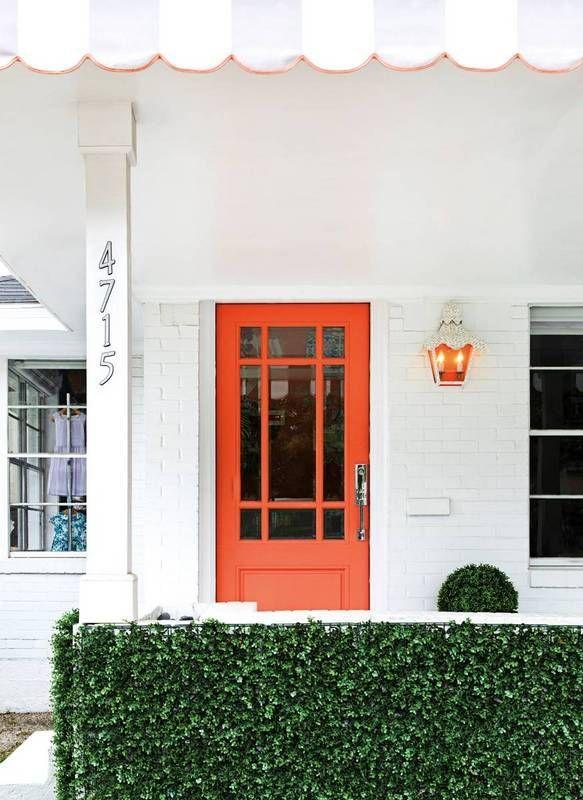17 best ideas about orange front doors on pinterest - Trending exterior house colors 2017 ...