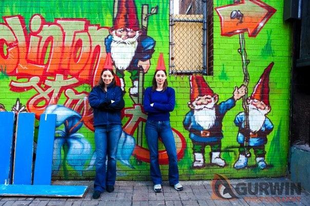 Gurwin interactive graffiti art