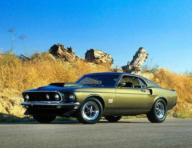 The Most Badass Classic Muscle Cars Vintage Muscle Cars