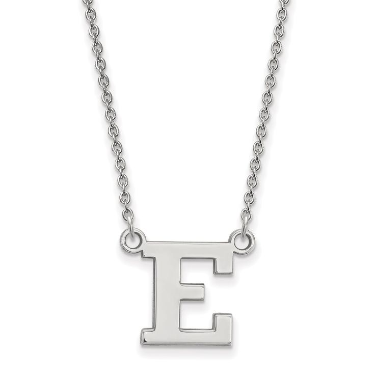 14kw LogoArt Eastern Michigan University Small Pendant with Necklace
