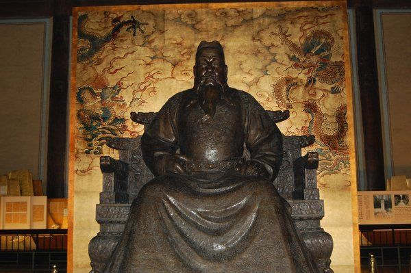 The Emperor Yong Le Beijing Ming Tombs – R.I.P for the Emperors