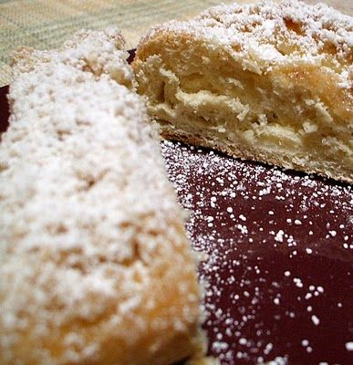 Homemade Entenmann's Cheese Filled Crumb Coffee Cake: (makes 2)