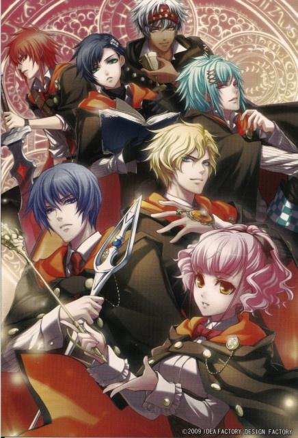 Anime dating visual novel games
