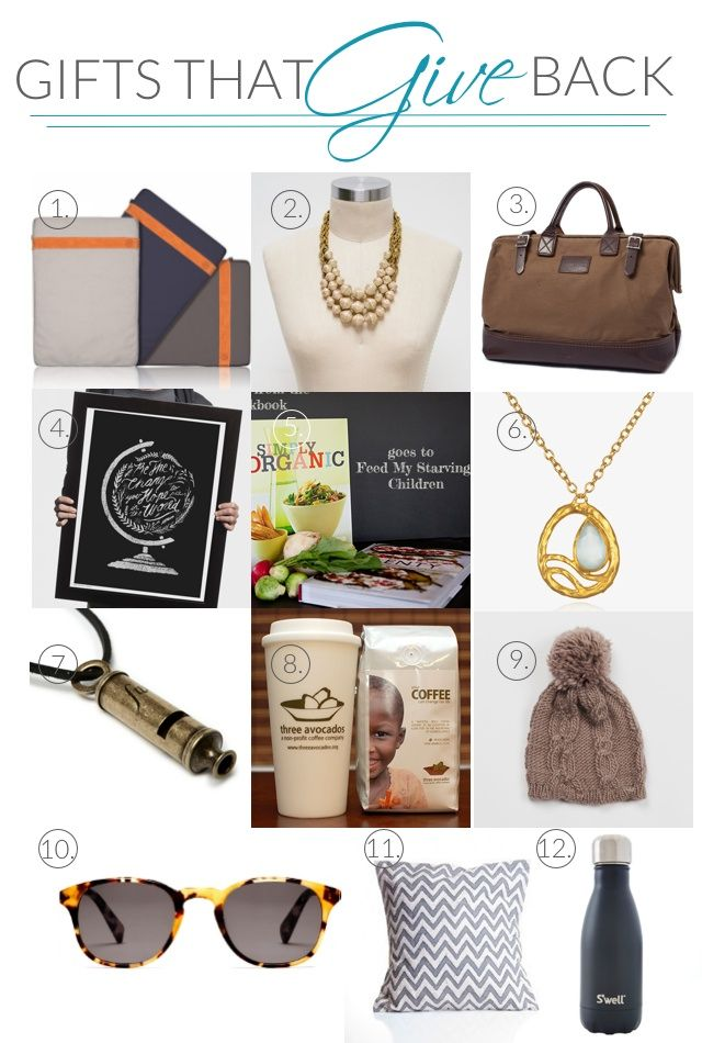 53 best Gifts that Give Back images on Pinterest | Christmas ...