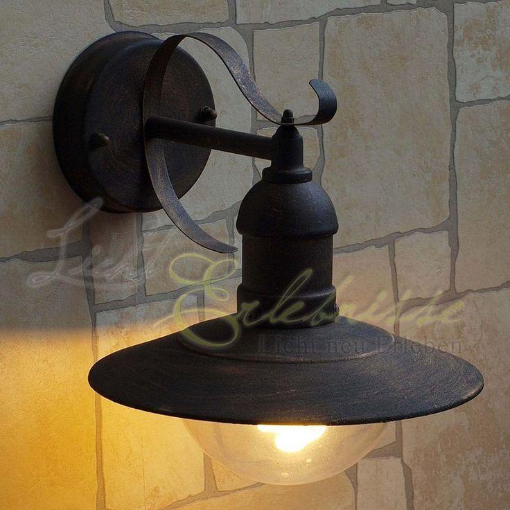 Antike Außenlampe Wandleuchte 8271 Außenbeleuchtung Hoflampe Hofbeleuchtung | eBay
