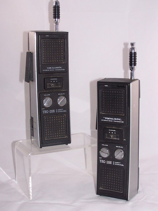 Vintage CB Walkie Talkies | C.B. & SCANNERS PLUS | Pinterest ...