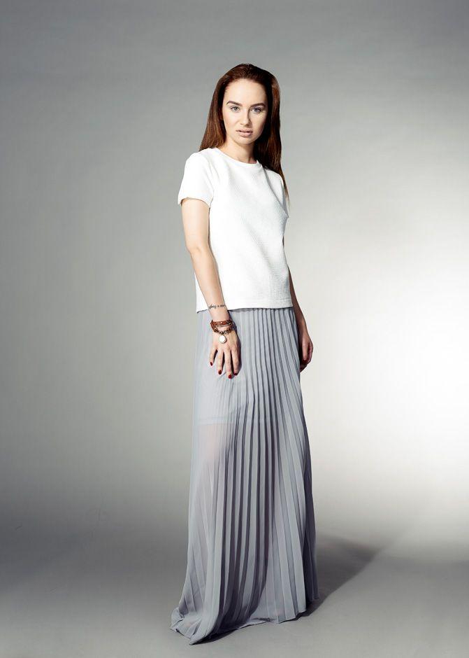 Blouse, skirt. Reserved.